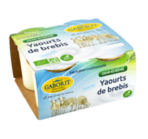 Yaourt brebis Fruits rouges bio 100g x 2